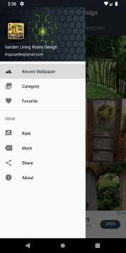 Garden Living Room Design screenshot 4
