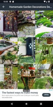 Homemade Garden Decorations Design screenshot 1