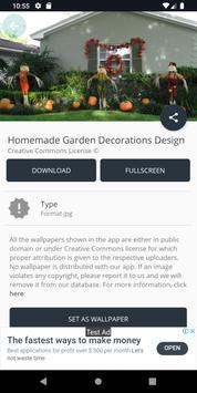 Homemade Garden Decorations Design screenshot 7