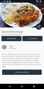 Special Dishes Design screenshot 2