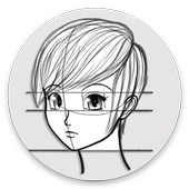 Tutorial Drawing Anime icon