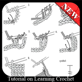 Tutorial on Learning Crochet icon