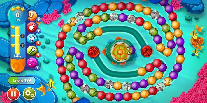 Marble Woka Woka: Marble Puzzle & Jungle Adventure screenshot 11