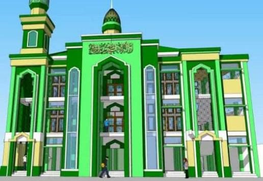 Two-Story Mosque Design screenshot 4