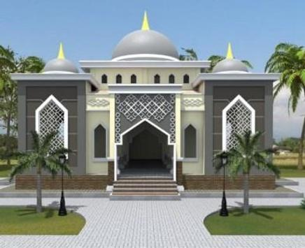 Two-Story Mosque Design screenshot 5