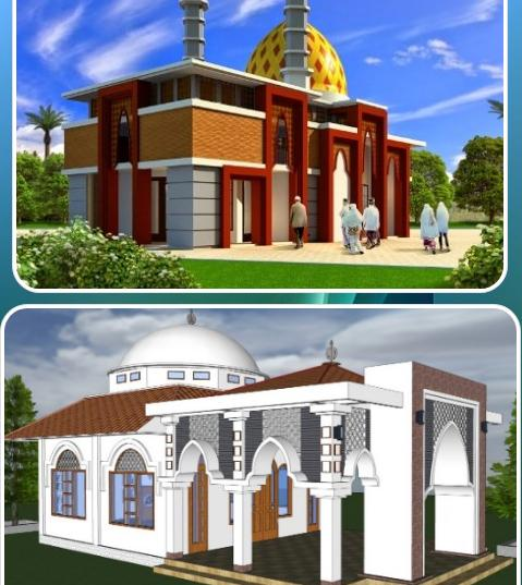 Two-Story Mosque Design For Android