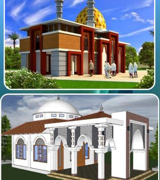 Two-Story Mosque Design screenshot 3