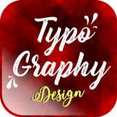 TYPOGRAPHY DESIGN icon