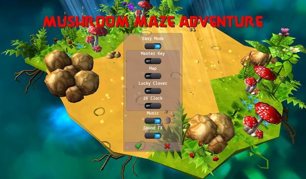 Mushroom Maze Adventure screenshot 21