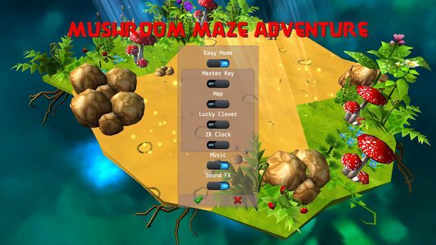 Mushroom Maze Adventure screenshot 5