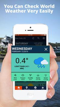 Weather Forecast Pro Weather Channel Weather Map screenshot 4