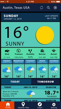 Weather Forecast Pro Weather Channel Weather Map screenshot 1