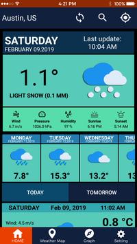 Weather Forecast Pro Weather Channel Weather Map screenshot 3