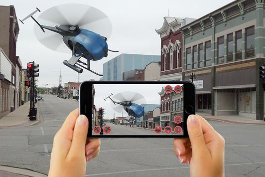 RC HELICOPTER REMOTE CONTROL SIM AR poster