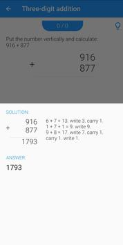 Easy Math - Learn maths at primary schools screenshot 2
