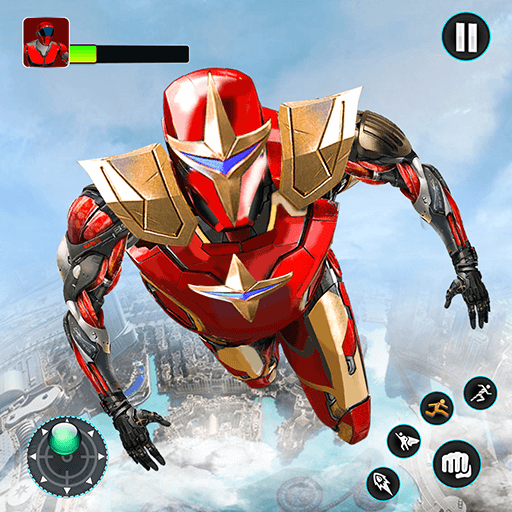 Download Flying Robot Hero – Crime City Rescue Robot Games                                     Flying future hero is on city rescue mission in superhero robot war simulator 3D                                     Epic Games Production                                                                              8.1                                         1K+ Reviews                                                                                                                                           5 For Android 2021