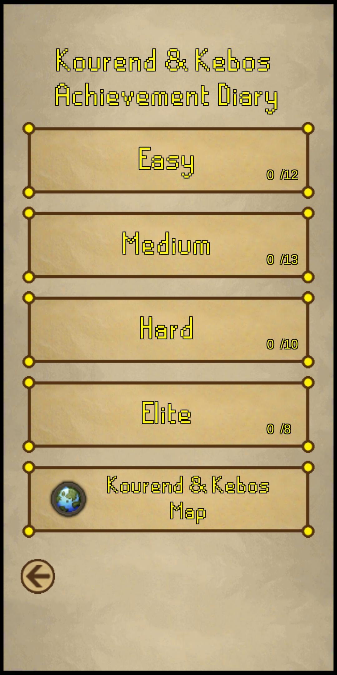 Osrs Achievement Diary Guide For Android Apk Download The kourend & kebos achievements is a set of achievements relating to kourend, kebos, and their surrounding areas, released on 10 january 2019. osrs achievement diary guide for