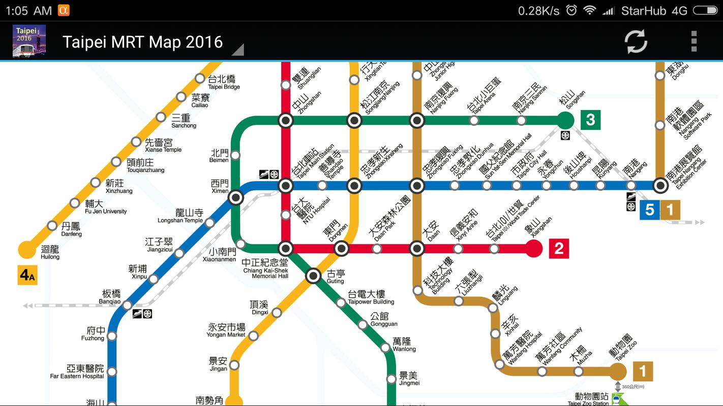 Taipei Mrt Map 2019 For Android Apk Download