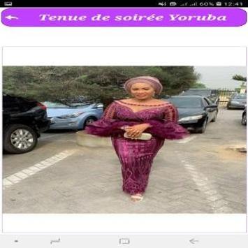 Tenue de soirée Yoruba screenshot 1