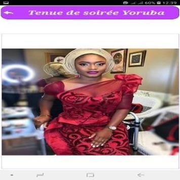Tenue de soirée Yoruba screenshot 4