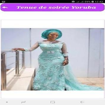 Tenue de soirée Yoruba screenshot 5