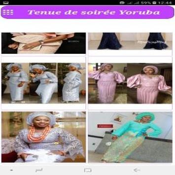 Tenue de soirée Yoruba screenshot 6