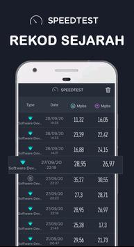 Ujian Kelajuan Internet - Speed Wifi Test syot layar 2