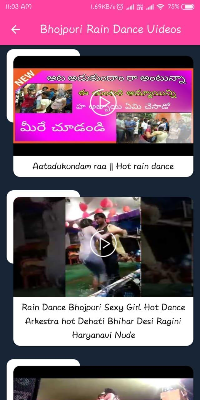 Bhojpuri Rain Dance Videos 2019 For Android Apk Download