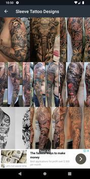 Sleeve Tattoo Designs screenshot 1