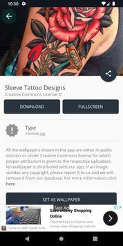 Sleeve Tattoo Designs screenshot 2