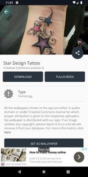 Star Design Tattoo screenshot 2