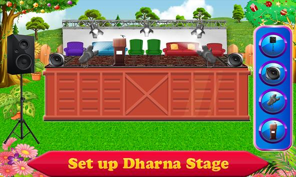 President House & Stage Décor - Cleanup Game poster