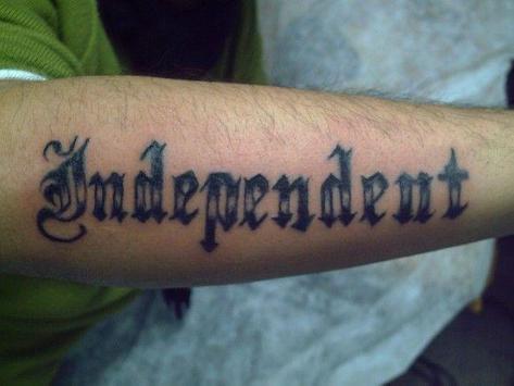 Tattoo Fonts screenshot 1