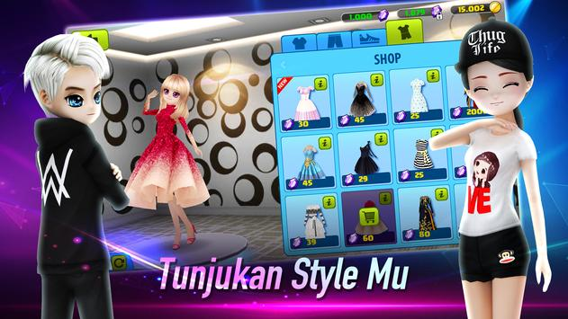 AVATAR MUSIK INDO - Social Dancing Game screenshot 3
