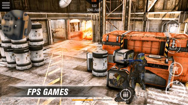 Call of modern FPS: war commando FPS Game screenshot 13