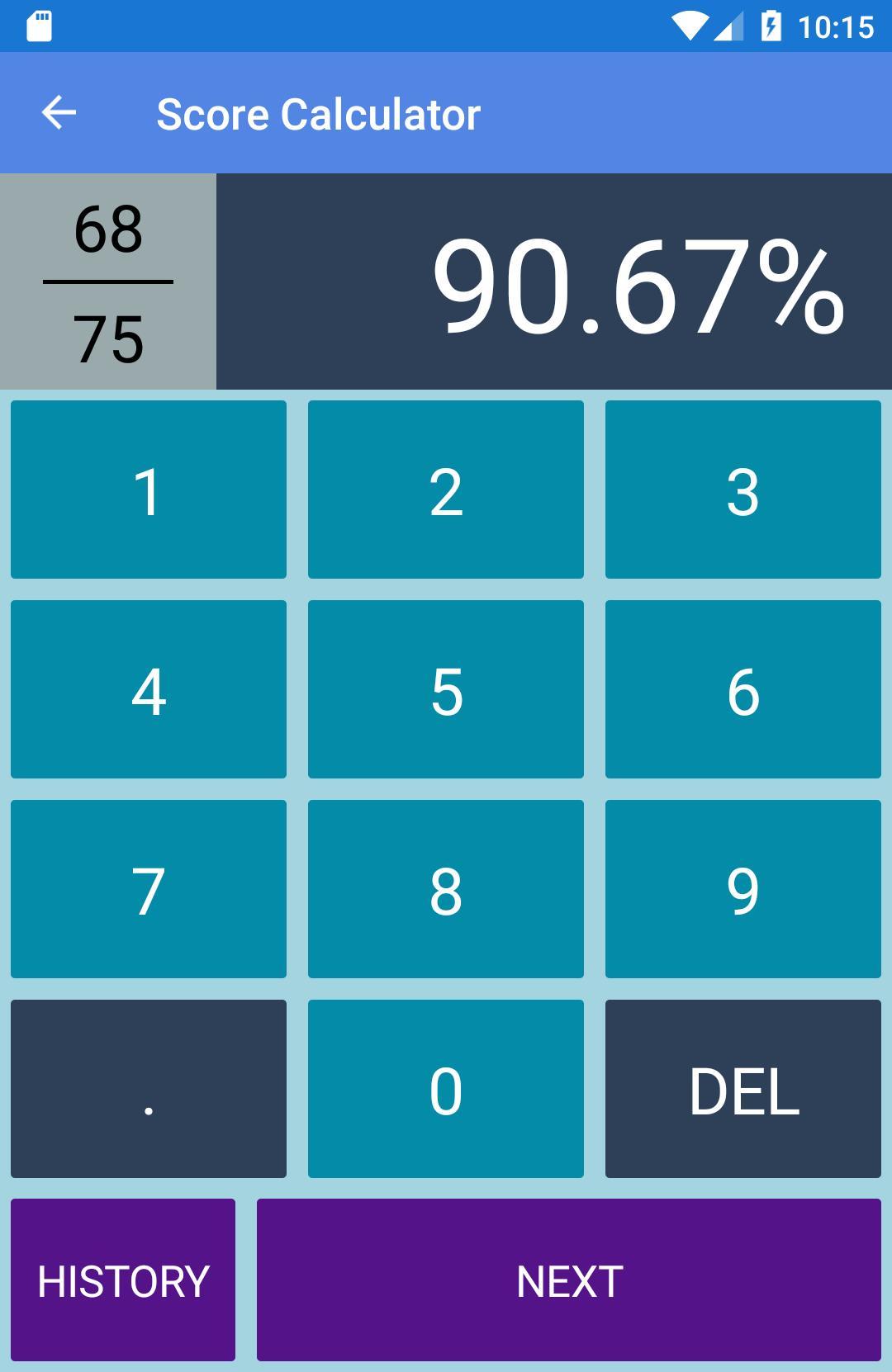 Easy Grader - Grading Calculator and Test Tracker for