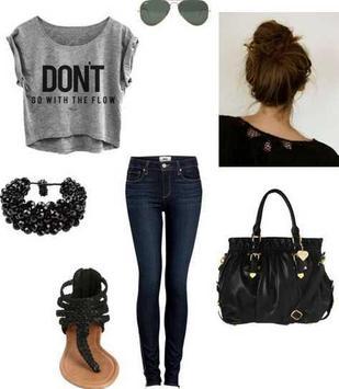 Teen Outfit Ideas screenshot 2