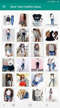 300+ Best Teen Outfits Ideas Offline screenshot 2