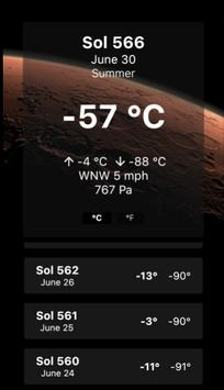 Mars Forecast screenshot 3