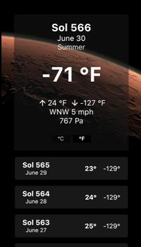 Mars Forecast screenshot 5
