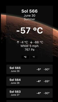 Mars Forecast screenshot 7