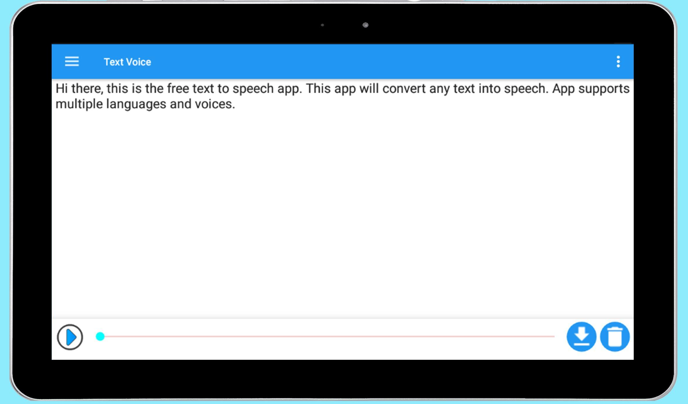 Text Voice for Android - APK Download