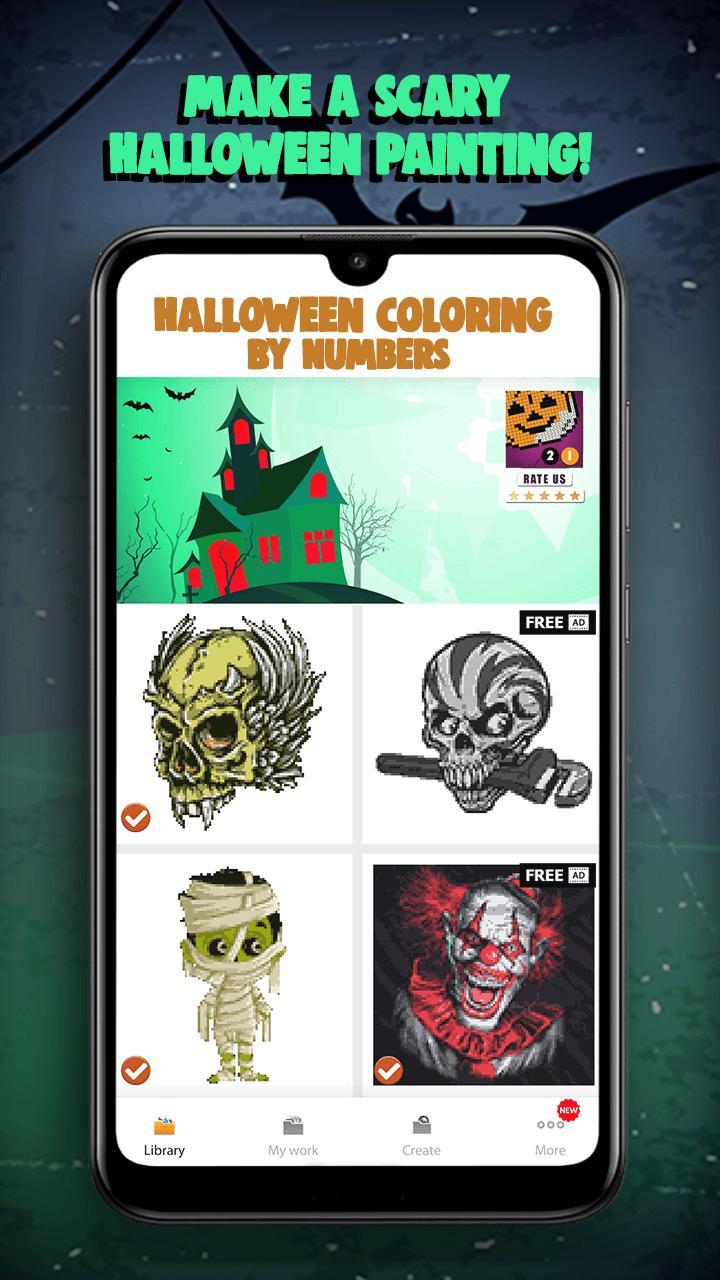 Halloween Mewarnai Dengan Angka For Android APK Download