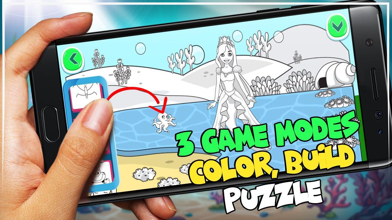 Android Icin Deniz Kizi Boyama Oyunlari Apk Yi Indir