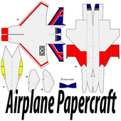 The Idea of Airplane Papercraft icon