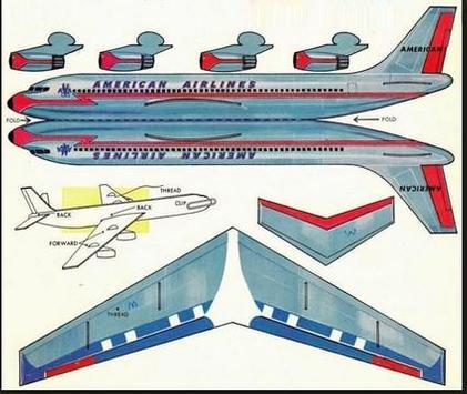 The Idea of Airplane Papercraft screenshot 4