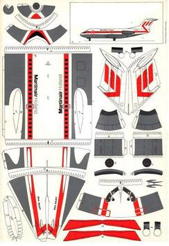 The Idea of Airplane Papercraft poster