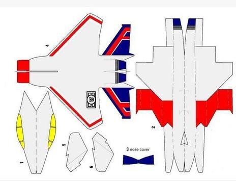 The Idea of Airplane Papercraft screenshot 1