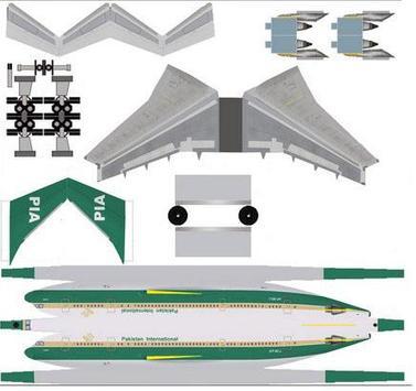 The Idea of Airplane Papercraft screenshot 3