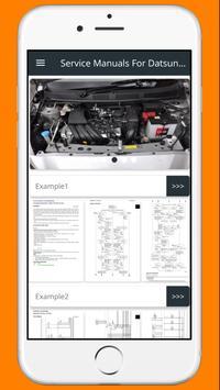 Service Manuals For Datsun Go screenshot 19